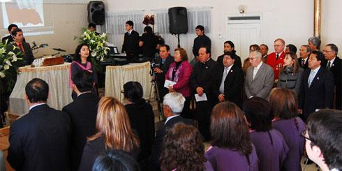 LAJINO.CL es LAJA en Internet // Laja; Te Deum Evangélico en Templo de la Iglesia Ejercito Evangélico de Chile - Foto: Cesar Jara