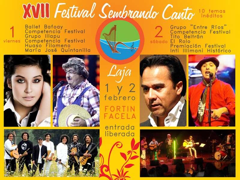 LAJINO.CL ES LAJA EN INTERNET // XVII FESTIVAL SEMBRANDO CANTO EN LAJA 2013