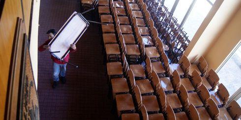 Lajino.cl es Laja en Internet // Liceo Héroes de la Concepción recibió nuevo mobiliario y equipamiento