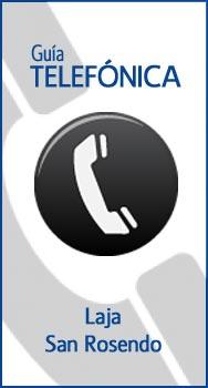 LAJA - SAN ROSENDO // Guía Telefónica / Dirección / Fonos / Celular / Móvil