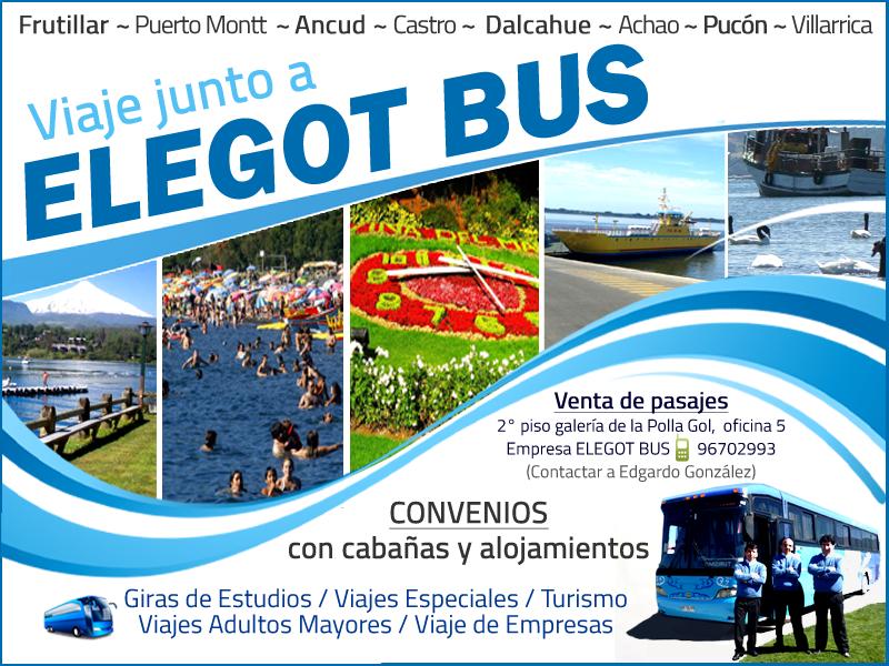 VIAJE JUNTO A Elegot Bus