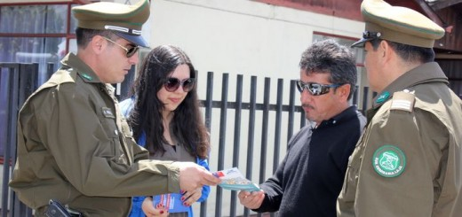 Laja previene el delito / Carabineros / Municipalidad
