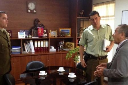 Capitán Fredy Parra asumió como Subcomisario de Carabineros en Laja