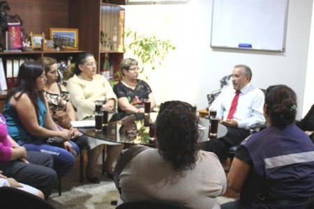 Dirigentas y vecinas del sector Altos del Laja se reunieron con el alcalde lajino expresando preocupación por temas de seguridad