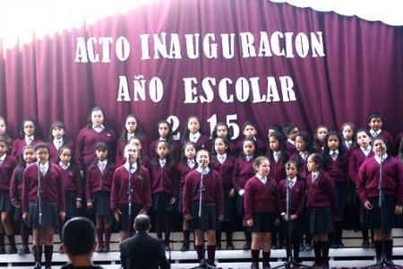 Ceremonia en Escuela Nivequetén dio inicio al Año Escolar en Laja
