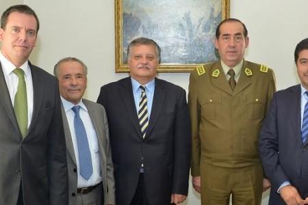 """Alcaldes de Los Ángeles, Mulchén y Laja se reúnen con General Director de Carabineros: """"Espero que se pueda implementar como se debe el Plan Cuadrante"""""""