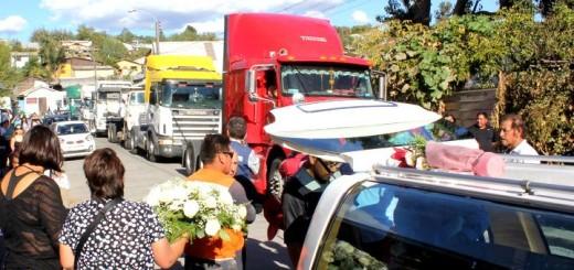 Funerales Transportista Lajino