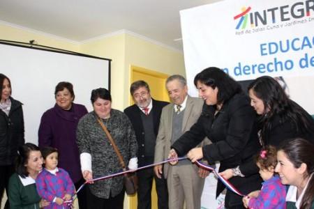 """Jardín infantil y sala cuna """"Entre Ríos"""" de Integra inaugura nuevas instalaciones en Laja"""