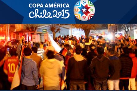 Chile en Semifinales de la Copa América 2015