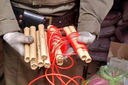 Tres personas fueron detenidas por ley de control de armas y explosivos en San Rosendo