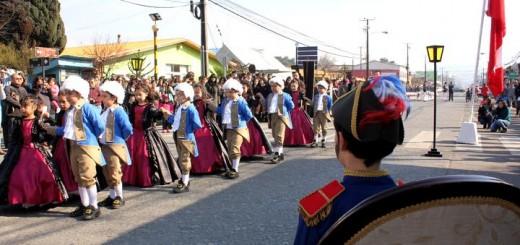 Desfile en Laja / 20 de Agosto