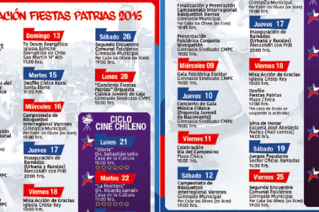 Fiestas Patrias Laja 2015