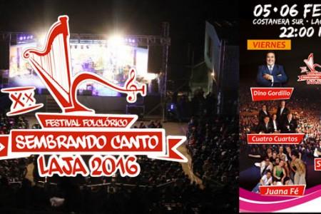 """Laja vivirá su XX Versión del Festival Folclórico """"Sembrando Canto"""" 2016"""