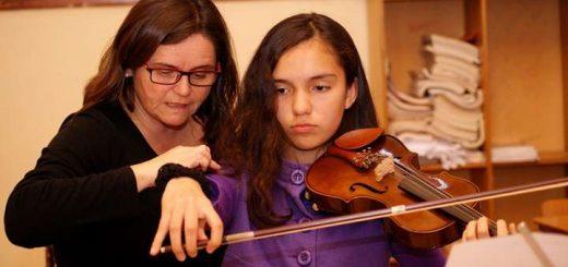 Orquesta Clásica Infantil de Laja inició año de trabajo