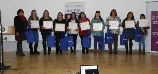Mujeres lajinas reciben certificación Sence