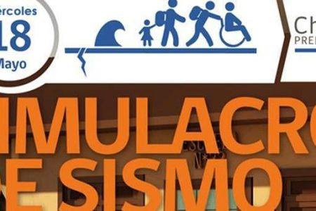 Más de la mitad de los establecimientos educacionales en la provincia efectuará Simulacro de Sismo