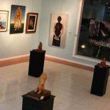 """Exposición itinerante """"Una mirada hacia las Artes"""" inició su recorrido en Laja"""