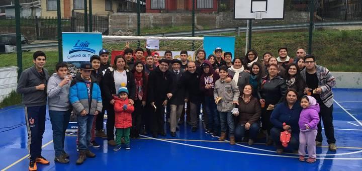 Inauguración multicancha El Mirador