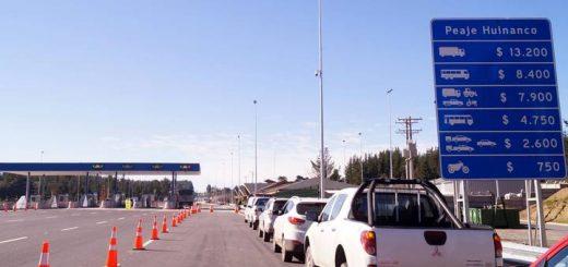 Autoridades inspeccionan habilitación de ruta Concepción - Cabrero