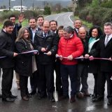 Ministro de Obras Públicas inaugura Ruta Q60-O entre Talcamávida - Hualqui