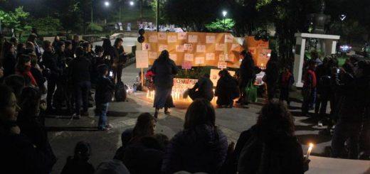 Mujeres lajina se sumaron a convocatoria nacional #NiUnaMenos