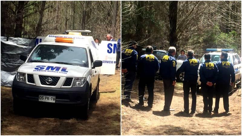 Mujer que estaba desaparecida en Laja fue asesinada y su cuerpo encontrado en predio forestal en sector puente Perales