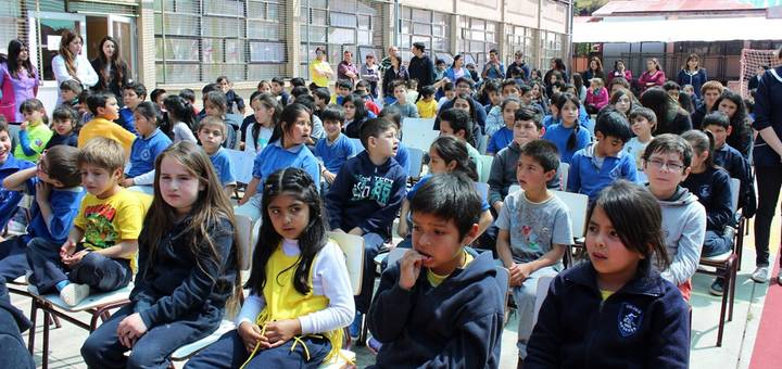 Liceo Isidora Aguirre Tupper celebra su aniversario número 58
