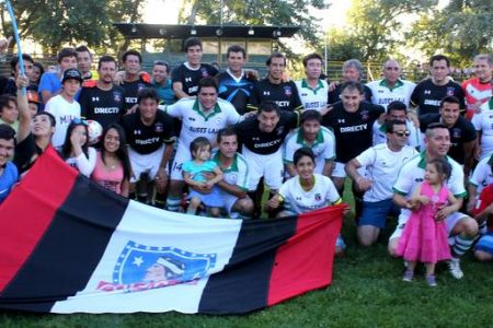 Colo-Colo de todos los tiempos enfrentó a históricos de Deportes Laja en inicio mes aniversario comunal