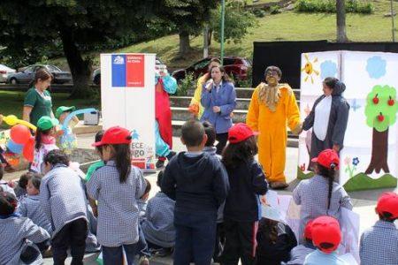 """Feria y Jornada de Sensibilización Red Comunal """"Chile Crece Contigo"""""""