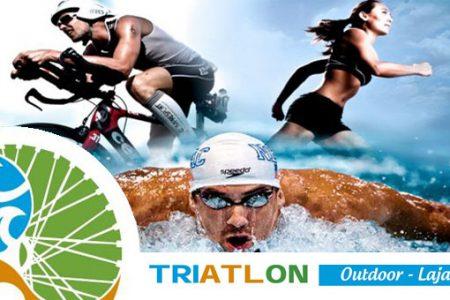Triatlón Outdoor Laja 2017 recibirá a deportistas el 28 de Enero