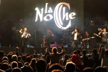 Cantautor Fernando Ubiergo y Grupo La Noche fueron parte del cierre del Festival Folclórico Laja 2017