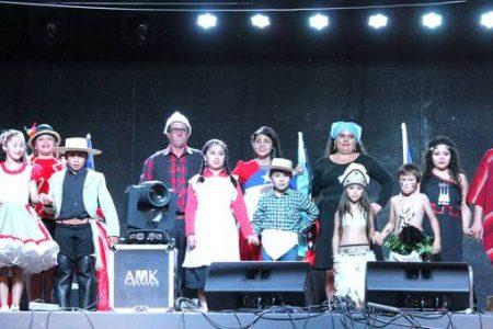 Danzas, cuecas y música latinoamericana en Noche del Folklore en San Rosendo