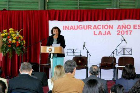 """En Área TP del Liceo """"Héroes de la Concepción"""" se inauguró el año escolar"""