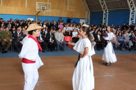 Como un hito calificó alcalde de San Rosendo acto público inaugural de Año Escolar
