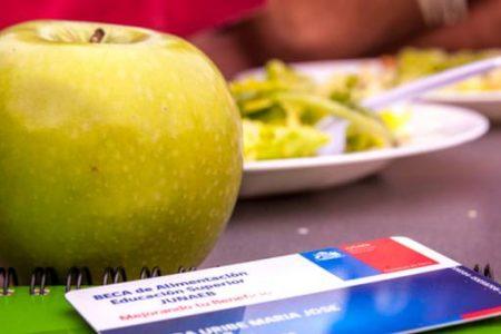 Junaeb entrega Beca de Alimentación a 347 mil estudiantes de Educación Superior de todo el país