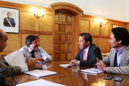 Alcalde de Laja se reunió con Subsecretario de Desarrollo Regional para abordar temas hídricos que afectan al sector rural