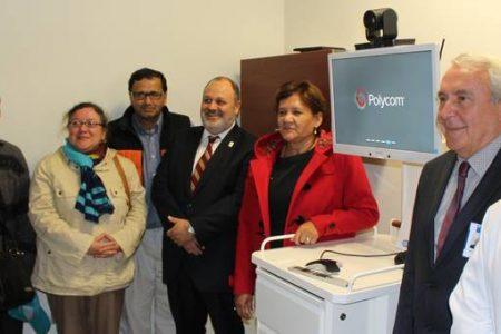 Tecnología de telemedicina llegó al Hospital de Laja