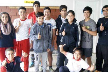 Atletas escolares lajinos compiten en torneo interescolar zona sur