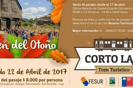 """""""Tren Turístico Corto Laja"""" mil historias en un viaje"""