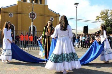"""Con acto y desfile San Rosendo recordó el """"Día de las Glorias Navales"""""""
