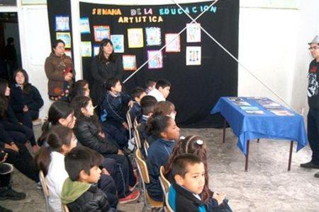 Establecimientos se sumaron a Semana de la Educación Artística