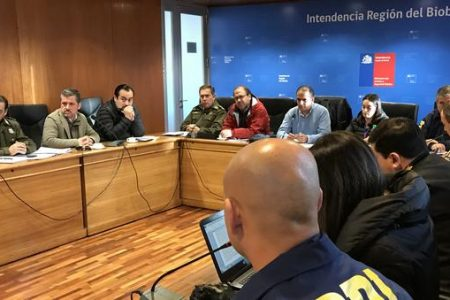 Autoridades entregaron balance por sistema frontal que afectó a la Región del Biobío