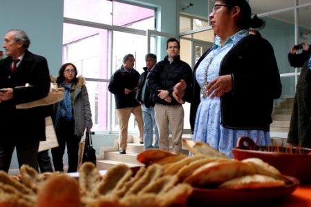 Cultura, artesanía y comida pehuenche en exposición de Cosmovisión Indígena