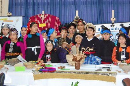Muestra cultural en conmemoración del Año Nuevo Mapuche