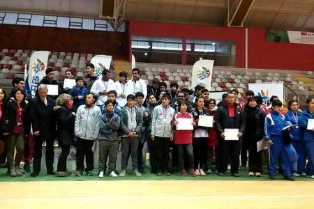 Estudiantes de Amanda Labarca, participan en Torneo de Tenis de Mesa