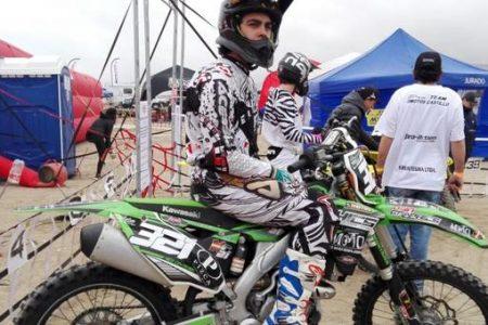 A pesar de las dificultades Nicolás Contreras logró finalizar cuarto en inicio del Campeonato Nacional de Motocross