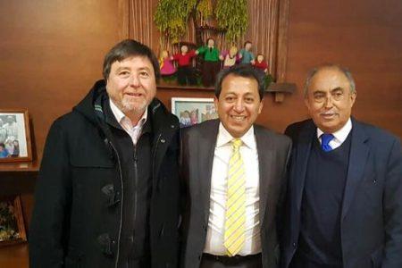 Subsecretario Ricardo Cifuentes se reunió con alcalde de Laja